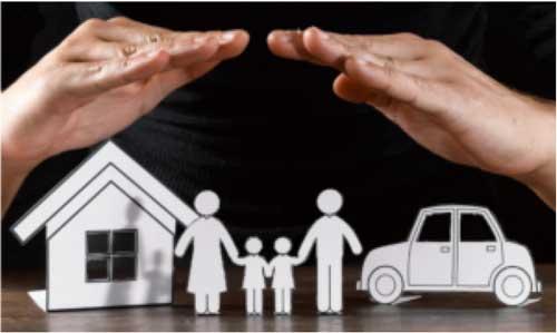 Schutz für Haus und Familie